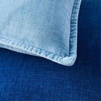 A laid-back take on luxe velvet cushions, our denim-inspired Cotton Velvet Indigo Cushion Covers are just like your favourite pair of jeans: comfortable, casual and oh-so-easy to toss on anywhere. Modern Throw Pillows, Velvet Cushions, Bedding Shop, Cotton Velvet, West Elm, Pillow Covers, Cushion Covers, Indigo, Valley Village