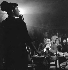 Rare Photos of Jazz Icons by Herman Leonard: Ella Fitzgerald, Duke Ellington, Benny Goodman in NYC Ella Fitzgerald, Maureen O'sullivan, Duke Ellington, Billie Holiday, Jazz Artists, Jazz Musicians, Louis Armstrong, Fred Astaire, Humphrey Bogart