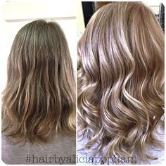 Hair color transformation done by Alicia Popham in Corvallis, Oregon