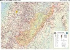 Resultado de imagem para mapas colombia