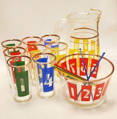 let's die friends: Vintage Barware