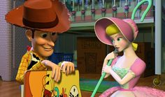 """Pixar's """"Toy Story 4"""" to center around love story between Woody and Bo Peep"""