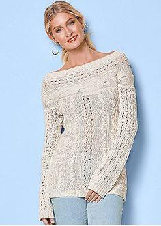 Sweaters & Sweatshirts: Knit, Ribbed, Fringe, & Lace | Venus