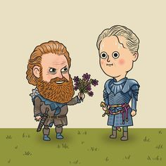 [NO SPOILERS] Brienne and Tormund sitting in a tree... : gameofthrones