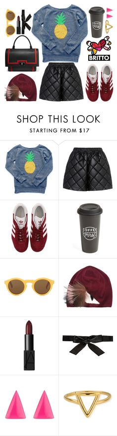 """""""Untitled #727"""" by krahmmm ❤ liked on Polyvore featuring STELLA McCARTNEY, adidas, The Created Co., CÉLINE, Fendi, NARS Cosmetics, Alice + Olivia, Alexis Bittar, ChloBo and Givenchy"""