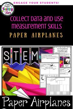 Paper Airplane STEM