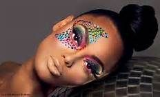 carnival makeup with rhinestones - Bing images