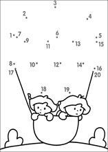 Connect The Dots Worksheets For Kindergarten – Worksheets Samples Preschool Writing, Numbers Preschool, Preschool Learning Activities, Kids Learning, Printable Preschool Worksheets, Kindergarten Math Worksheets, Worksheets For Kids, Connect The Dots, Math For Kids
