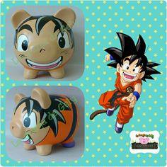 Piggy Banks, Pottery Painting, Pigs, Goku, Marvel, Dani, Comics, Dreams, Teacup Pigs