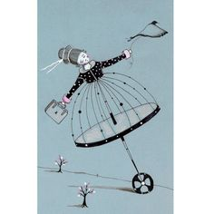 The perils of a polkadot princess by  LilyMoon on etsy