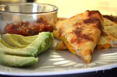quesadilla: I would like to try this recipe with different types of cheese.