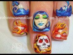 Hot Nails - Party Girl Nail Art (playlist)