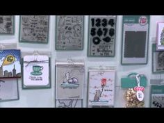 New Stamp and Die Sets from Avery Elle - CHA 2015 Video