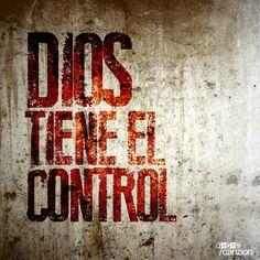 A pesar de lo difícil que sea la prueba, puedes descansar confiando en que #DiosTieneElControl ¡Buenas noches!