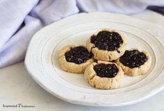 Paleo thumbprint cookies