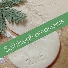stamped salt dough ornaments - Google Search