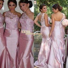 Cheap Junior Bridesmaid Dresses - Discount Button Full Length Junior Bridesmaid Dresses Lace Satin Online with $75.66/Piece   DHgate.com