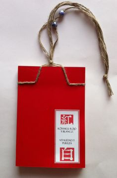 Japanese craft book, based on a traditional binding.