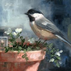 """Resting"" original fine art by Linda Jacobus"