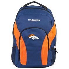 Denver Broncos NFL Draft Day Backpack. Visit SportsFansPlus.com for a Discount Coupon.