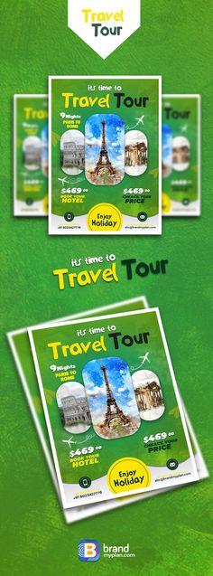 travel tour flayer ,poster