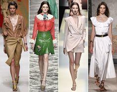 Portal UseFashion - Semana de Moda de Milão - Tecido Plano e couro