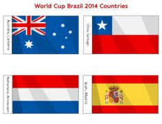 World Cup Brazil 2014 Countries – Group B  #Soccer #WorldCup #2014 #Countries
