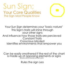 Astrology: Sun Sign | #astrology #zodiac #sunsign