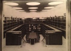 Alvar Aalto / Pension Bank in Helsinki 1952-56, Seminar-Reading Room