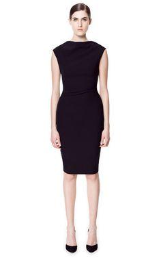 HIGH NECK DRESS - Dresses - ZARA