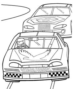 Nascar car coloring sheets for 10 car repair manuals and for Nascar 88 coloring pages
