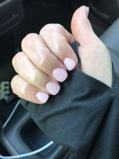 """If you're unfamiliar with nail trends and you hear the words """"coffin nails,"""" what comes to mind? It's not nails with coffins drawn on them. Although, that would be a cute look for Halloween. It's long nails with a square tip, and the look has. Shellac Nails, My Nails, S And S Nails, Nail Polish, Fancy Nails, Cute Nails, Pink Nail Colors, Nexgen Nails Colors, Pretty Nail Colors"""