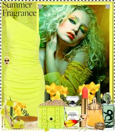 """What's Your Summer Fragrance?"" by brenda-joyce ❤ liked on Polyvore"