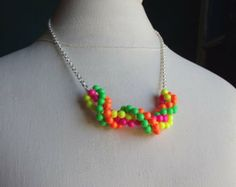 neon jewelry - Google Search