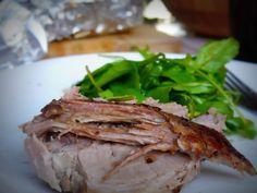 bondiola al horno Meatball Recipes, Steak, Food, Gastronomia, Desserts, Recipes, Spoons, Oven, Meals