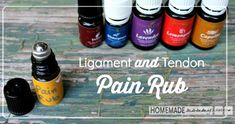 Homemade Ligament and Tendon Pain Rub Recipe | Herbs and Oils Hub