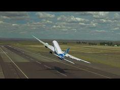 Boeing 787-9 Dreamliner performs acrobatic stunts - Jumbo Jet Stunts Farnborough Airshow 2014