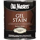 Old Masters 24991 80704 Gel Stain Dark Walnut 1 quart Walnut Oil, Dark Walnut, Old Masters Gel Stain, Faux Wood Garage Door, Oil Based Stain, Wood Stain Colors, Paint Colors, Garage Door Makeover, General Finishes