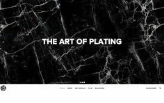 The Art of Plating | httpster.net