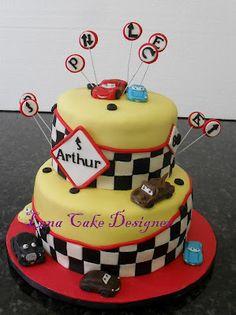 Bolo Carros (Cars cake)
