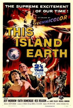 This Island Earth  science fiction  movies  retro