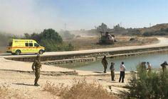 MDA ambulance near reservoir