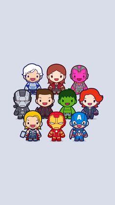 So beautiful marvel Avengers Cartoon, Marvel Cartoons, Avengers Comics, Superhero Cartoon, Chibi Marvel, Marvel Art, Marvel Heroes, Marvel Universe, Heroes Disney