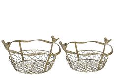 Idea for the dollar tree basket...