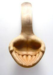 Julia Harrison - Generous Spoon 2012, Apple wood
