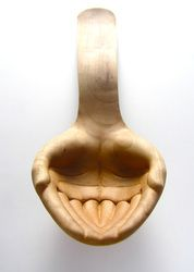 We are here to love and serve. What we serve Is Love ~ Wood serving spoon by Julia Harrison -