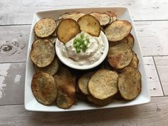 The Simple State Kitchen: Cactus Cut Potatoes - diana A Food, Food And Drink, Vegan Sour Cream, Save On Foods, Vegan Parmesan, Fodmap Recipes, Great Appetizers, No Calorie Foods, Whole Food Recipes