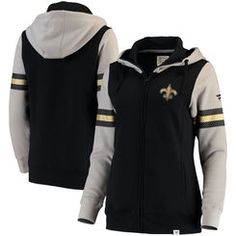 708073bed New Orleans Saints JH Design Women s Embroidered Logo Poly Twill Jacket -  Charcoal