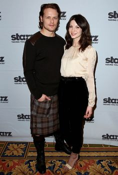 he's a hot Scot and she is so elegant