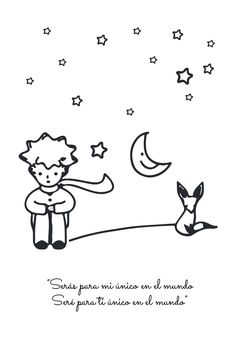 Little Prince, The Little Prince Type 2 Print The Little Prince Movie, Writers Notebook, Black And White Prints, Inspirational Posters, Cute Doodles, Hand Embroidery Stitches, Cross Paintings, Hanging Wall Art, Nursery Prints